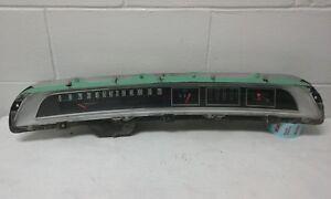 Original 1964 Chevrolet Impala Belair Biscayne Gauge Cluster Speedometer