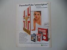 advertising Pubblicità 1981 PANNOLINI POLIN