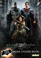 Batman vs Superman Mega Sticker Book by Centum Books