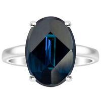 London Blue Topaz 925 Sterling Silver Ring Jewelry DGR1075_F