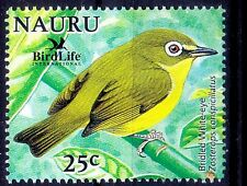 Bridled White Eye, Birds, Nauru MNH - T32
