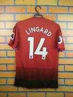 Lingard Manchester United Jersey 2019 Home S Shirt CG0040 Soccer Football Adidas