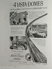 1955 Northern Pacific Railway ad, North Coast Ltd