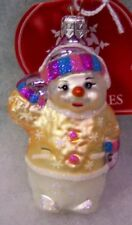 New Slavic Treasures Retired Glass Ornament - Muffy 2001