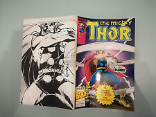 PLAY PRESS   -  MARVEL -   THE MIGHTY THOR  -  PLAY BOOK  N° 6  1990 -  4/18