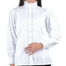 Blouse Victorian/Edwardian Vintage Tops & Shirts for Women