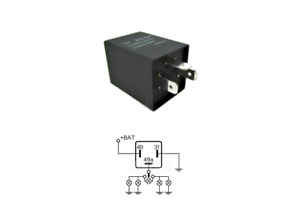 Hazard, Indicator, Flasher Unit Relay - 12v 21wx4 (5w) 3 Pin for Classic Volvo