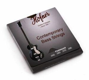 Höfner E-Bass-Saiten HCT1133B Contemporary Flatwound Bass Beatles Violin Club