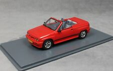 Neo Models Opel Corsa Spider Irmscher i120 in Red 45915 1/43 NEW Vauxhall Nova