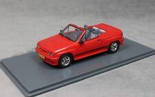 Neo Models Opel Corsa Spider Irmscher i120 in Red 45915 1/43 NEW Vauxhall Nova