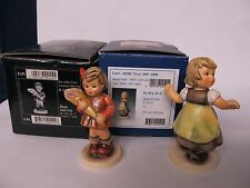 HUMMEL CLUB FIGURES SWEET OFFERING & SPRING WALTZ 2 IN BOXES EX  CONDITION