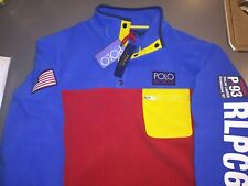 Polo Ralph Lauren Stadium Hi Tech Color Block CP 93 Fleece Pullover-XL MSRP $198