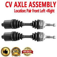 PAIR FRONT LEFT AND RIGHT CV DRIVE AXLE SHAFT ASSEMBLY For CAVALIER ,PONTIAC