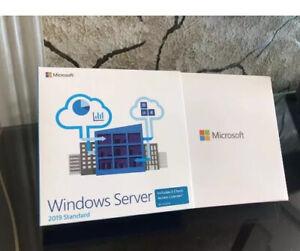 Windows Server 2019 Standard 16 core DVD BOX Version