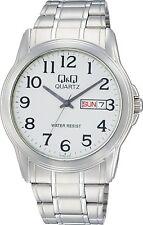 CITIZEN Q&Q WATCH Day&Date Standard Analog display Silver A142-214 Men's