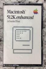 Rare Brand New Macintosh 512K Enhanced - A Guided Tour - (Cassette Tape,1986)