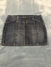 987c0f47e2 Abercrombie & Fitch Denim Mini Solid Skirts for Women for sale   eBay
