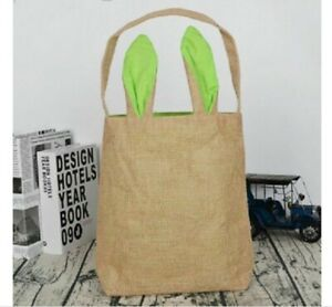 Candy Baskets Easter Bunny Handbag For Kids Party Supply Cookies Storage Decors