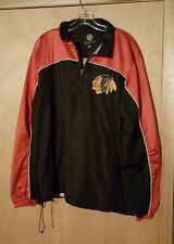Chicago Blackhawks Windbreaker size Large