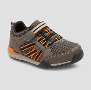 """New Surprize by Stride Rite """"Davon"""" Athletic Sneakers - Brown [Toddlers Size 5]"""