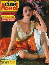 ▬►Cinémonde 1424 (1961) NATALIE WOOD_BRIGITTE BARDOT_JOHNNY HALLYDAY_S.KOSCINA