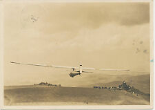 "AVIATION GERMAN EMPIRE 1934 superb postally used ""GERSFELD / (RHÖN)"" RP postcard"