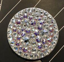 New Popsockets AB & Clear Swarovski Crystals Bling Iphone Popsocket Grip Samsung