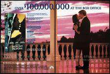 INDECENT PROPOSAL__Original 1993 Trade AD movie promo__DEMI MOORE_ROBERT REDFORD