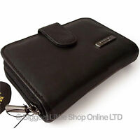 New Lorenz Ladies Leather Purse/Wallet Black