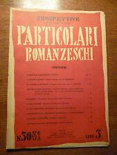 PROSPETTIVE Curzio Malaparte - PARTICOLARI ROMANZESCHI 1942 Rivista originale
