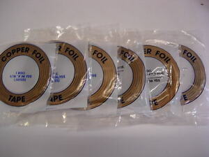 Stained Glass Supplies - Copper Foils - Edco - Best Quality - Multi-Listing