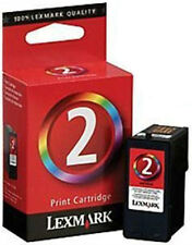 Lexmark 2 Colour Simply 2 Lemxmark No.2  Remanufactured Inkjet  Cartridge