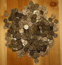 1946-D 5C JEFFERSON NICKEL ROLL (40 COINS) CIRCULATED COINS CHECK OUT STORE