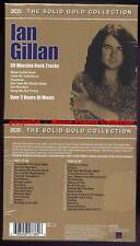 """IAN GILLAN """"Solid Gold Collection"""" (2 CD) 2005 NEUF"""