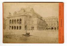 Cabinet Card c1880 Opera House Vienna Wien Oscar Kramer Austria
