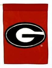 "Georgia Bullodgs ""G"" Collegiate Small Banner Flag & Window Rod 11""x15"""