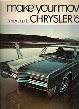 Chrysler Newport 300 New Yorker Town & Country 1968 Canadian Market Brochure