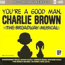 NEW Sing You're A Good Man Charlie Brown: The Broadway Musical (Audio CD)