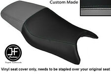 Vinilo Gris y Negro Personalizado Para Honda CBR 600 F 97-98 Doble Cubierta de asiento solamente