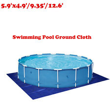 Outdoor Swimming Pool Floor Ground Cloth Protector Mat Waterproof Tarp Sheet