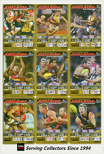 2005 AFL Teamcoach Gold Trading Card Team Set Adelaide (9)
