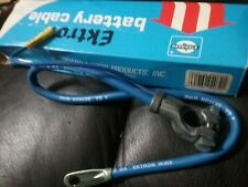"Battery Cable Standard Ektron A22-4U 22"" long 4 Guage"