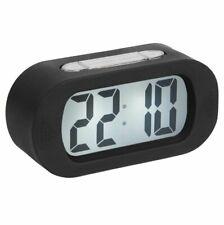 Karlsson BLACK GUMMY LED ALARM CLOCK Rubberised Digital