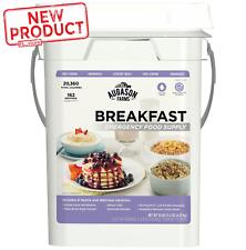 162 Servings Survival Storage Pail  Emergency Breakfast Food Supply Kit NEW
