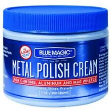 Blue Magic Metal Polish Cream Chrome /Aluminum/Mag Wheels 7oz Fast Free Shipping