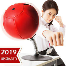 Desktop Punching Bag Suction Cup Stand Boxing Tension Toy Stress Relief Office