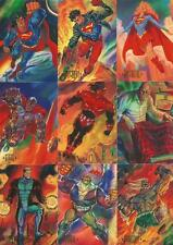 DC Master Series Full 90 Card Base Set from SkyBox - DC Comics Edition