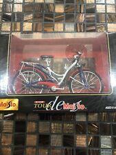 Tour de Maisto 1:12 Die Cast Metal Bike Bicycle Miniature