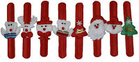 Xmas Christmas Slap Band,Snap Band Santa Stocking Filler Toy Kids/Adult One Size