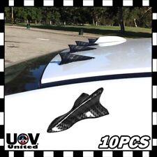 Carbon Fiber Style Shark Fin Diffuser Vortex Generator Spoiler Windshield Roof